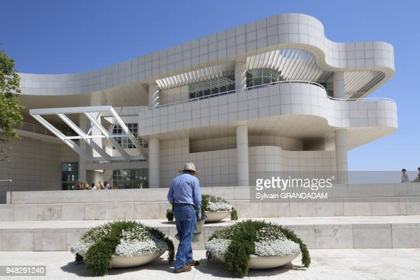 LOS ANGELES CALIFORNIA USA Getty Center Museum // EtatsUnis Californie Ville de Los Angeles Musee du Centre Getty
