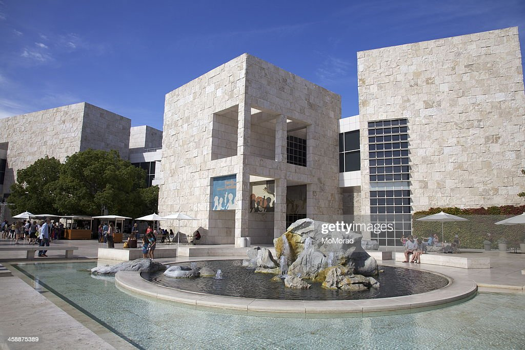 Getty Centre, Los Angeles : Stock Photo