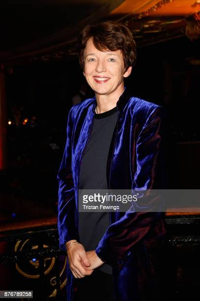 Getty CEO Dawn Airey attends the annual National Youth Theatre national fundraiser at Cafe de Paris on November 20 2017 in London England