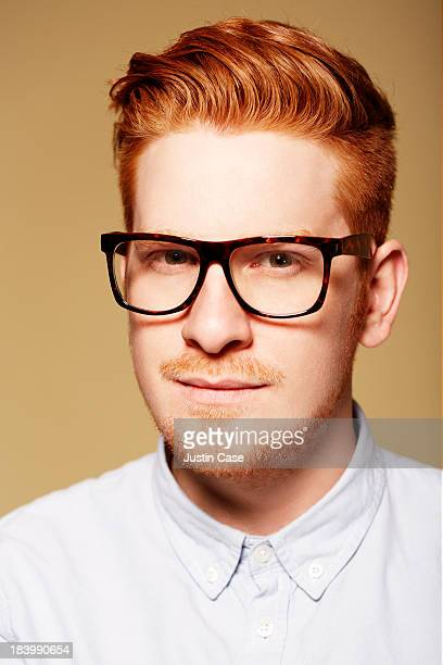 getty digital portrait - thick rimmed spectacles - fotografias e filmes do acervo