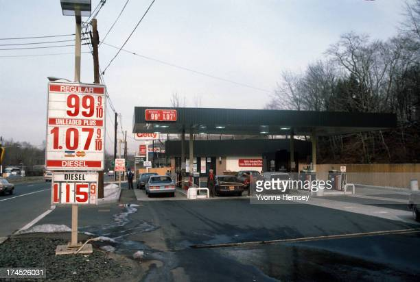 Getty gas station on Route 4 in Paramus New Jersey is photographed February 23 1983 Gasoline prices have taken a dip in recent days