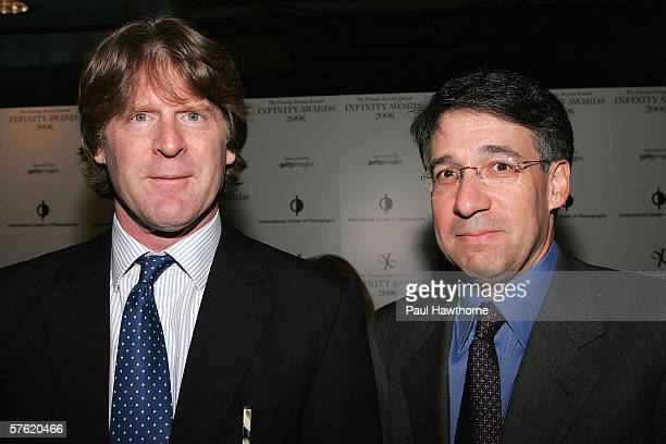 Getty Images CoFounder and Chairman Mark Getty and Getty Images CoFounder and CEO Jonathan Klein attend the 22nd Annual Infinity Awards Gala...