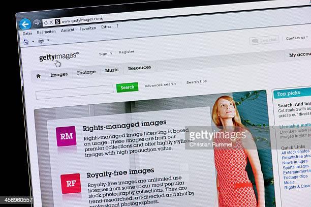 Getty Images - Macro shot of real monitor screen