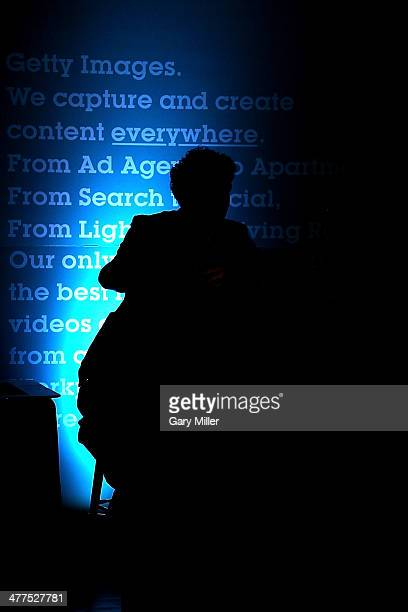 Getty Images photographer Adam Pretty talks about the international language of sport at the Getty Images House during South By Southwest on March 9...