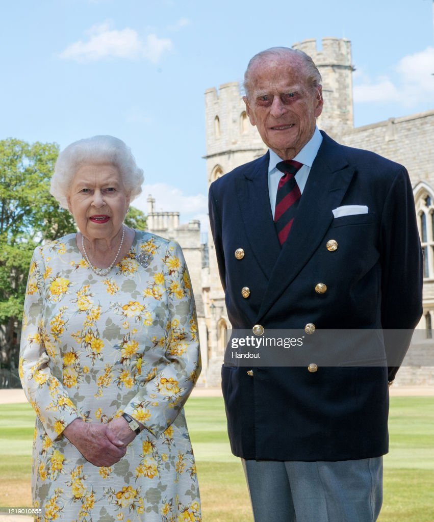 The Queen And The Duke Of Edinburgh Release A Photograph To Celebrate The Duke's 99th Birthday : News Photo