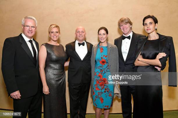 Getty Images senior staff photographer/special correspondent and 2018 Lucie Award winner John Moore, Melinda Anderson, Chief Operating Officer Getty...