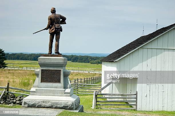 Gettysburg Battlefield, Pickett's Charge Fields