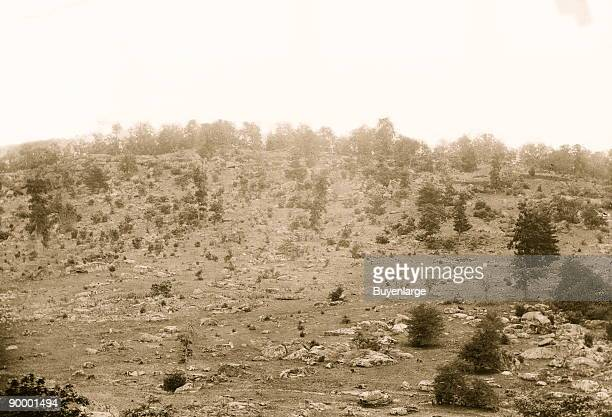 Gettysburg, Pennsylvania. View of Little Round Top