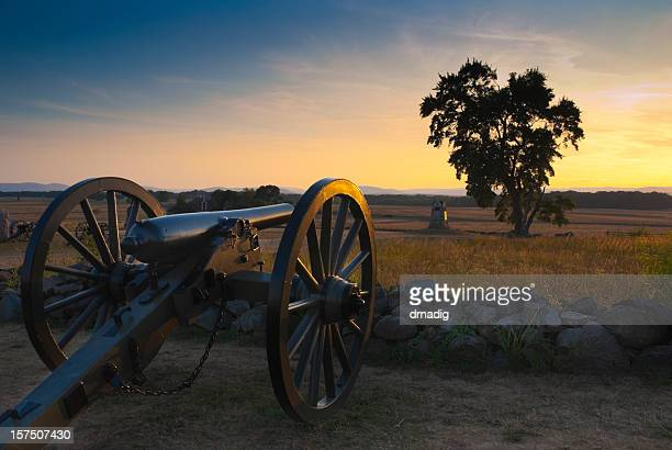 gettysburg sunset - gettysburg stock photos and pictures