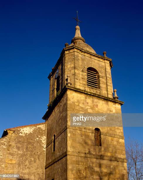 Getxo province of Vizcaya Basque Country Spain Church of St Mary of Getxo Rural baroque church dated before 18th century although its origins date...