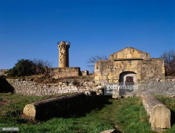 Getxo province of Vizcaya Basque Country Spain Fuerte de La Galea or Prince's Castle It was built in 1740 by Jaime Sycre to protect the coast by the...