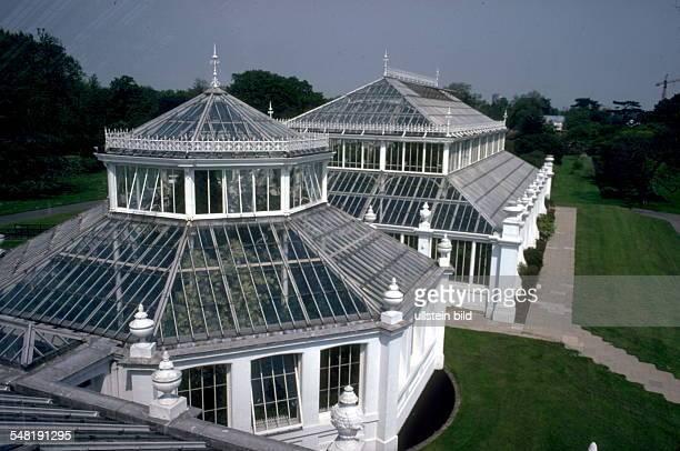 Gewächshäuser im Botanischen Garten 1996
