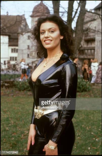 Gewinnerin des PenthouseMädchens des Jahres 1981 Monika Kaelin
