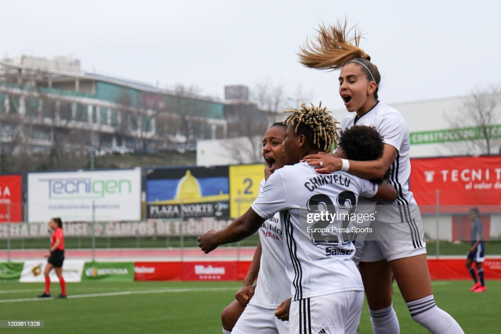 Women: Madrid CFF V CD Tacon : News Photo