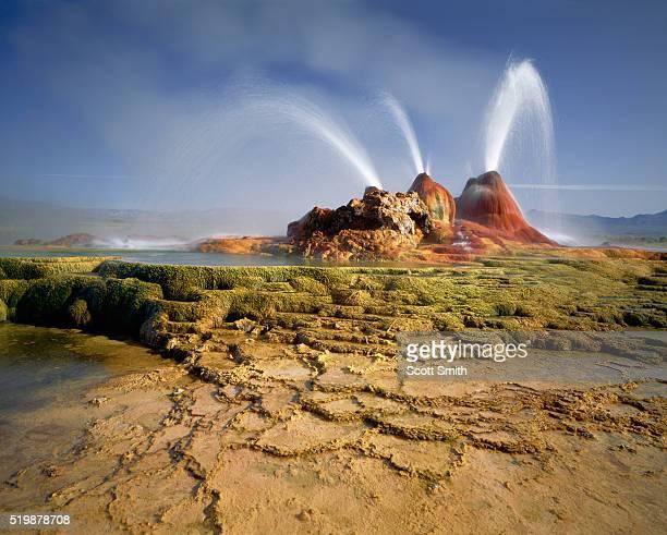 Geysers in Black Rock Desert