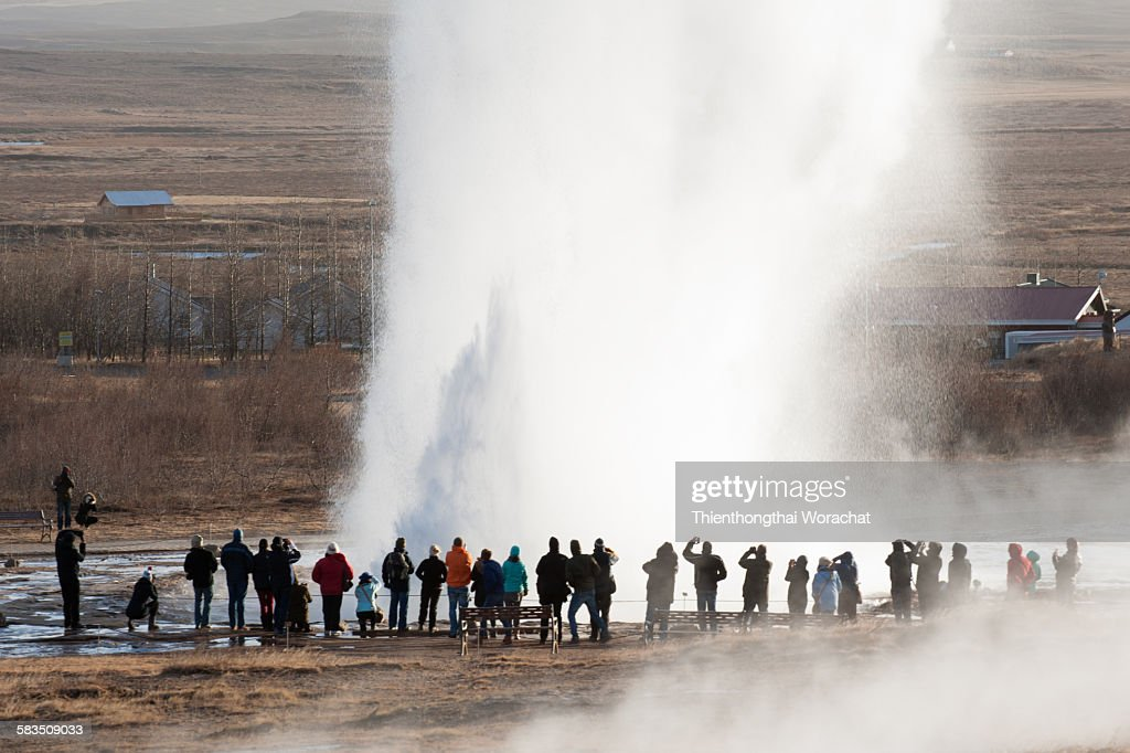 Geysir Iceland : Stock Photo