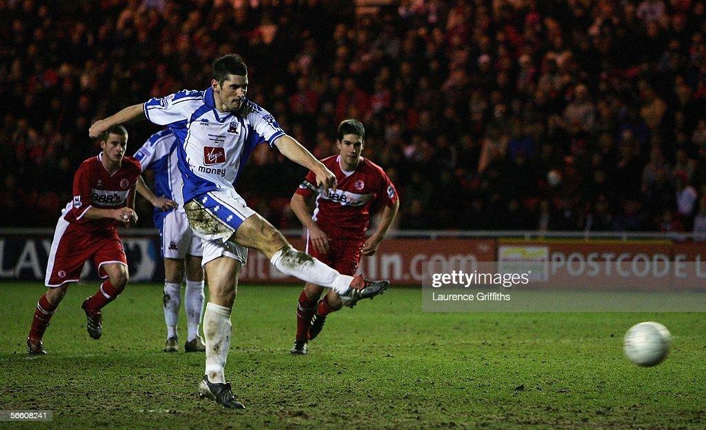 FA Cup Replay: Middlesbrough v Nuneaton Borough : News Photo