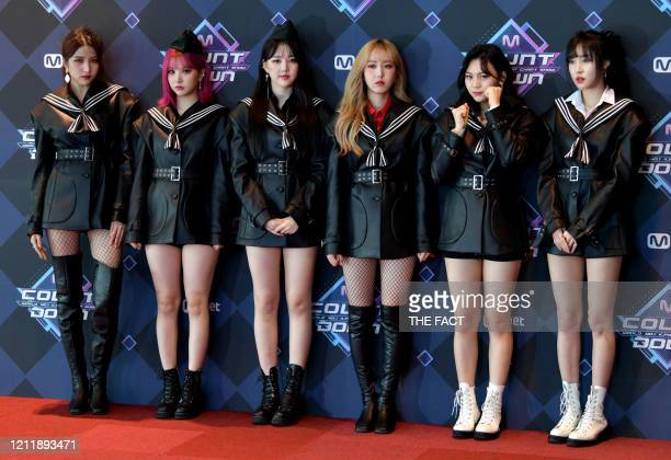 GFriend attends the photocall for Mnet M Countdown at CJ EM Center on February 20 2020 in Seoul South Korea