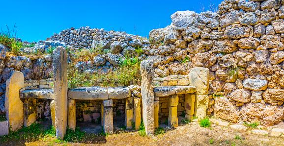 Ggantija neolithic temple at Xaghra, Gozo, Malta 1068523004