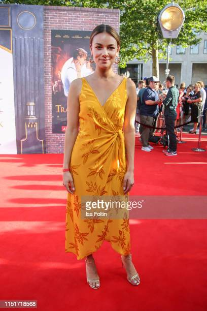 """GGerman actress Janina Uhse attends the """"Traumfabrik"""" Movie Premiere on June 24, 2019 in Berlin, Germany."""