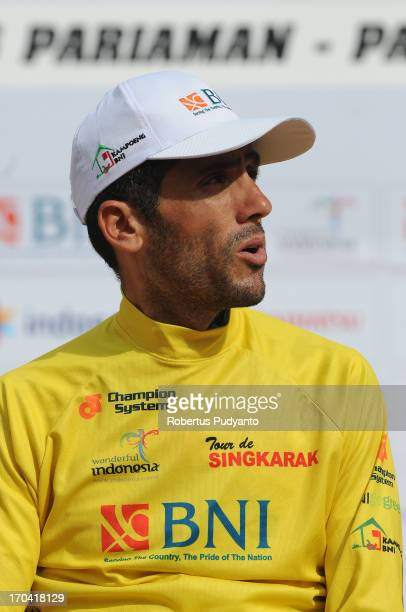 CONTENT] Ghader Mizbani of Tabriz Petrochemical Cycling Team got Yellow Jersey in Stage 6 Tour de Singkarak 2013 Start from Pariaman to Painan...