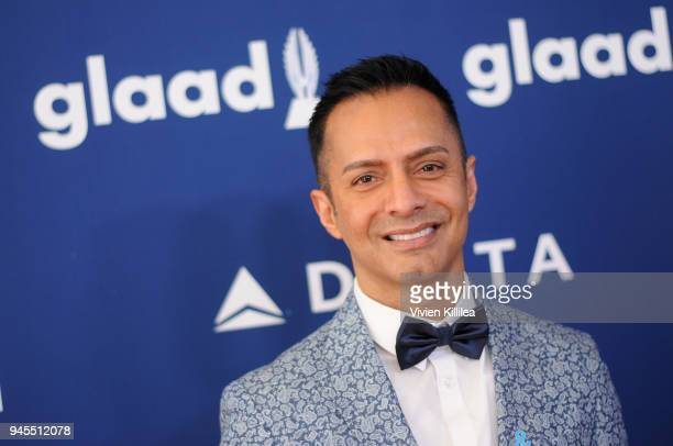 Ghalib Shiraz Dhalla attends the 29th Annual GLAAD Media Awards at The Beverly Hilton Hotel on April 12 2018 in Beverly Hills California