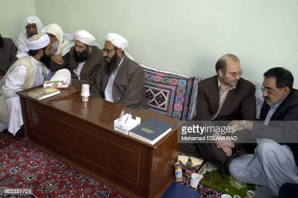Ghalibaf meeting with Sunnite Muslems in Zahedan