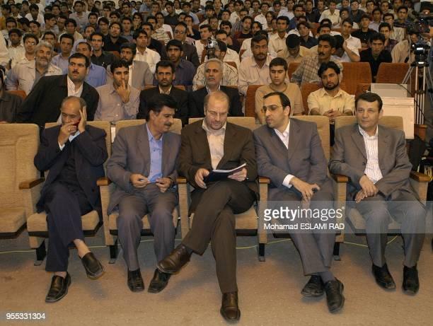 Ghalibaf Presidential Condidate in Zahedan university