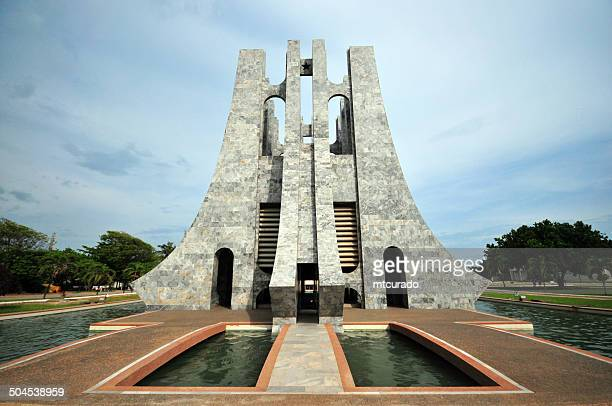 ghana, accra, kwame nkrumah memorial park - ghana stock pictures, royalty-free photos & images