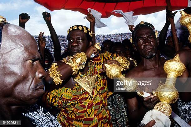 An Ashanti chief. -