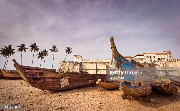ghana coast - ghana stock pictures, royalty-free photos & images