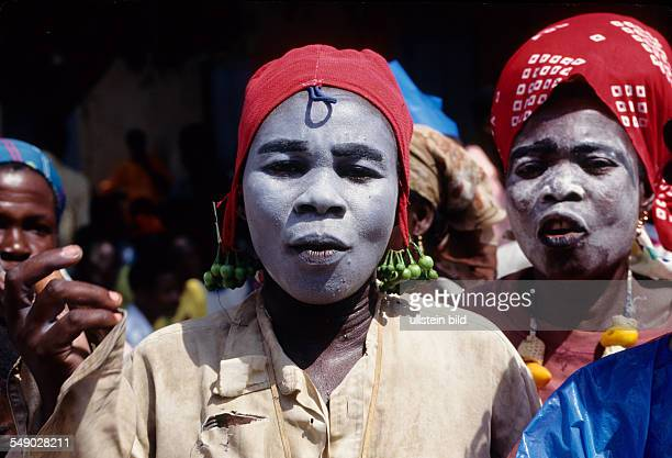 Fancy dress during the Asafo festival