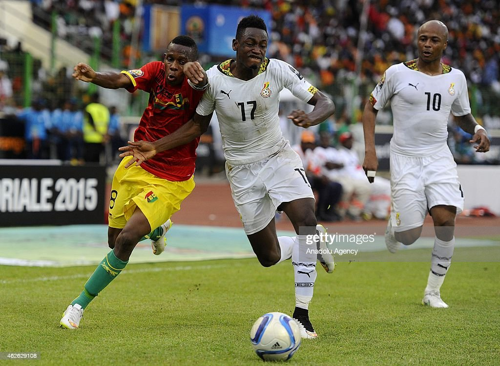 Ghana vs Guinea: 2015 African Cup of Nations : News Photo