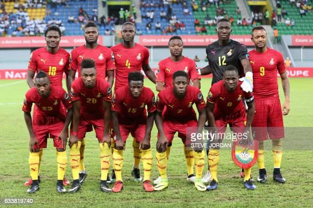 Ghana's squad defender Daniel Amartey midfielder Thomas defender Jonathan Mensah forward Bernard Tekpetey goalkeeper Richard Ofori forward Jordan...