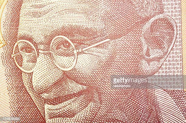 Ghandi on Banknote