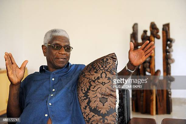 Ghanian born renowned sculptor Professor El Anatsui speaks about his forty-year career as a sculptor, teacher and exhibition to mark his 70th...
