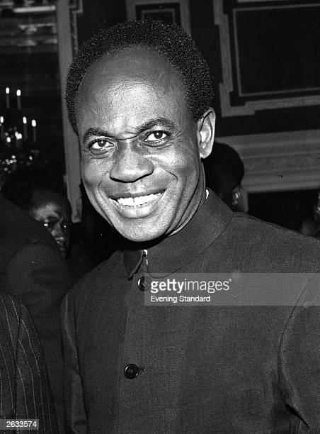 Ghanian politician Dr Kwame Nkrumah the country's first president at a Commonwealth Conference Original Publication People Disc HH0080