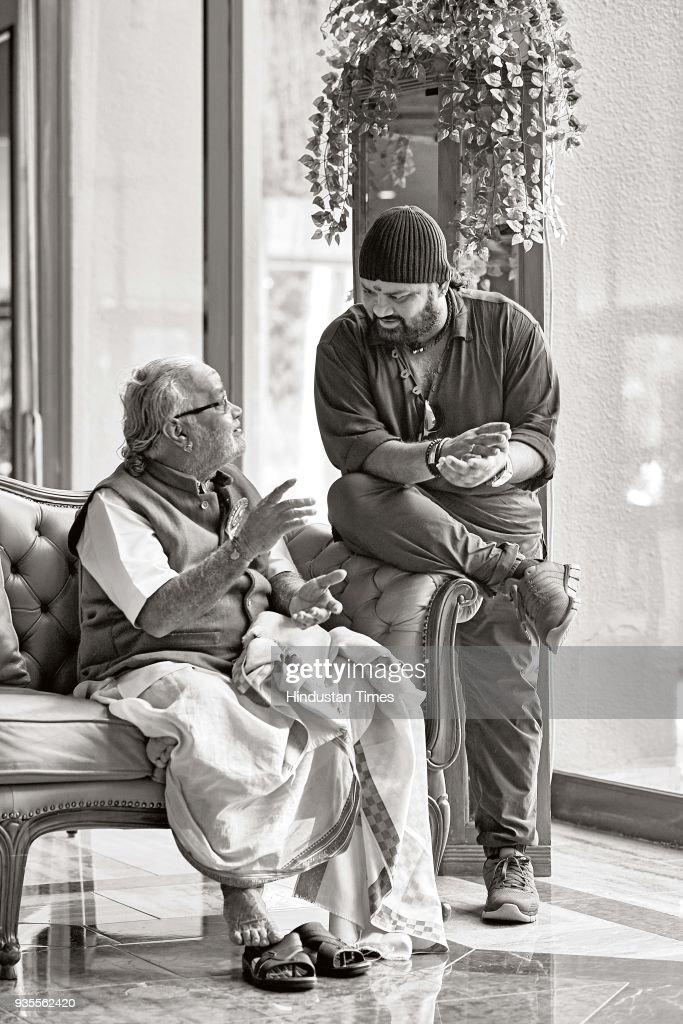 HT Brunch Exclusive: Profile Shoot Of Ghatam Vidwan Vikku Vinayakram And His Son V Selvaganesh