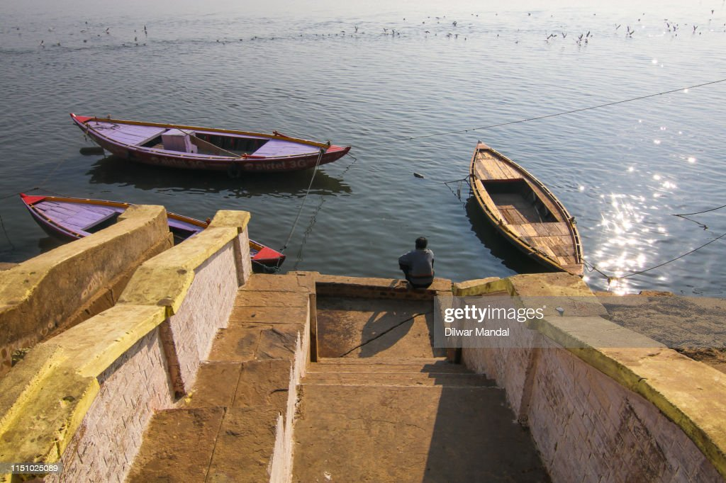 Ghats Of Varanasi : Stock Photo