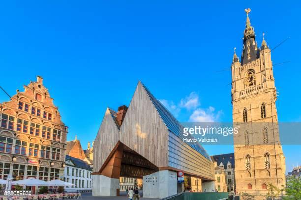 ゲント、鐘楼・市パビリオン - ベルギー