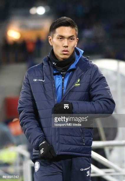 20171129 Ghent Belgium / Croky Cup 1/8 Final Kaa Gent v Sporting Lokeren / 'nYuya KUBO'nBelgian Cup 1/8 Final'nPicture Vincent Van Doornick / Isosport