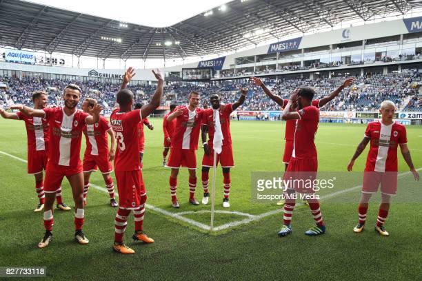 20170806 Ghent Belgium / Kaa Gent v Royal Antwerp Fc / Celebration / Football Jupiler Pro League 2017 2018 Matchday 2 / Picture by Vincent Van...