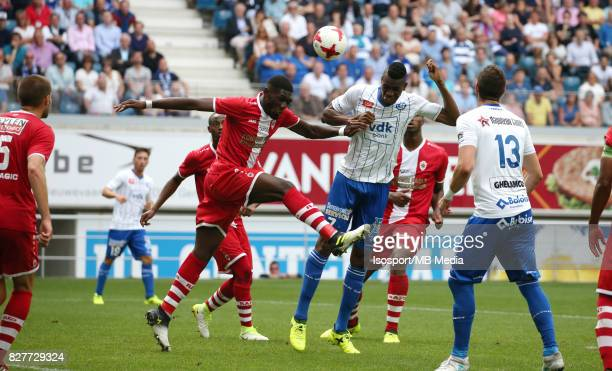 20170806 Ghent Belgium / Kaa Gent v Royal Antwerp Fc / Dylan BATUBINSIKA Kalifa COULIBALY / Football Jupiler Pro League 2017 2018 Matchday 2 /...