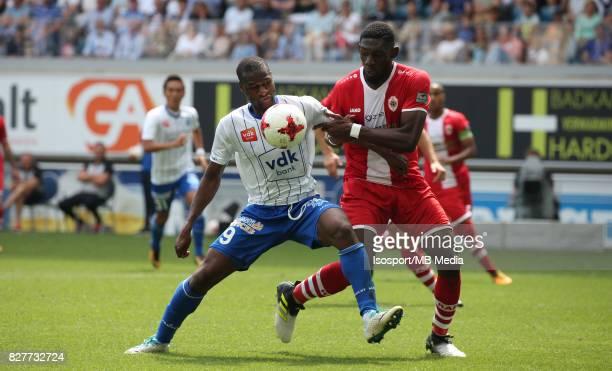 20170806 Ghent Belgium / Kaa Gent v Royal Antwerp Fc / Mamadou SYLLA Dylan BATUBINSIKA / Football Jupiler Pro League 2017 2018 Matchday 2 / Picture...