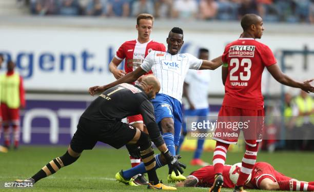 20170806 Ghent Belgium / Kaa Gent v Royal Antwerp Fc / Sinan BOLAT Kalifa COULIBALY / Football Jupiler Pro League 2017 2018 Matchday 2 / Picture by...
