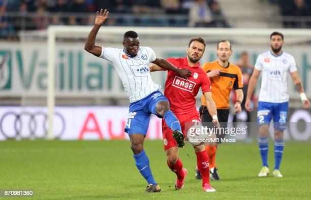 20171103 Ghent Belgium / Kaa Gent v Standard de Liege / 'nAnderson ESITI Orlando SA'nFootball Jupiler Pro League 2017 2018 Matchday 14 / 'nPicture by...