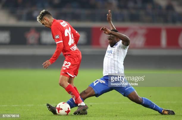 20171103 Ghent Belgium / Kaa Gent v Standard de Liege / 'nJunior EDMILSON Anderson ESITI'nFootball Jupiler Pro League 2017 2018 Matchday 14 /...