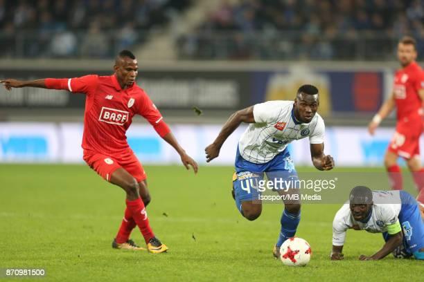20171103 Ghent Belgium / Kaa Gent v Standard de Liege / 'nUche AGBO Anderson ESITI'nFootball Jupiler Pro League 2017 2018 Matchday 14 / 'nPicture by...