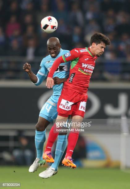 20170421 Ghent Belgium / Kaa Gent vs Kv Oostende /Anderson ESITI Fernando CANESINJupiler Pro League 2016 2017 PlayOff 1 Matchday 4 at the Ghelamco...