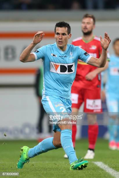 20170421 Ghent Belgium / Kaa Gent vs Kv Oostende /Jeremy PERBET Ontgoocheling DeceptionJupiler Pro League 2016 2017 PlayOff 1 Matchday 4 at the...